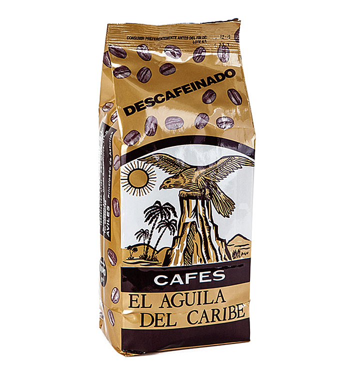 Café natural descafeinado 1Kg