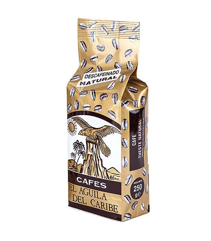 Café natural descafeinado 100%