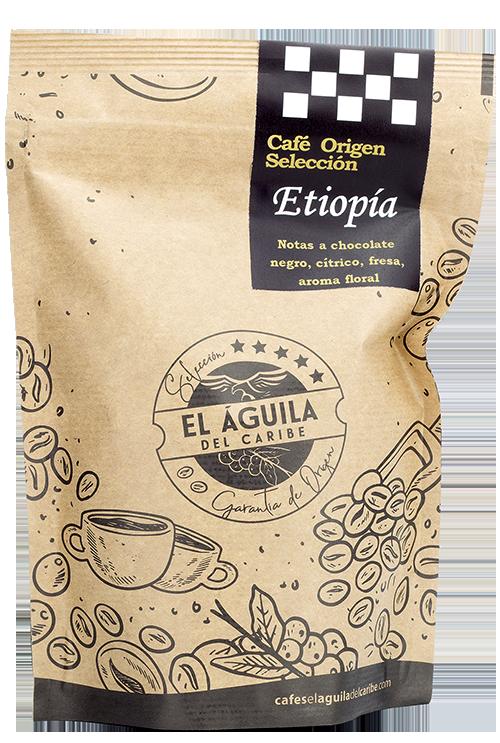 Café Origen Selección ETIOPIA de Cafés El Aguila del Caribe