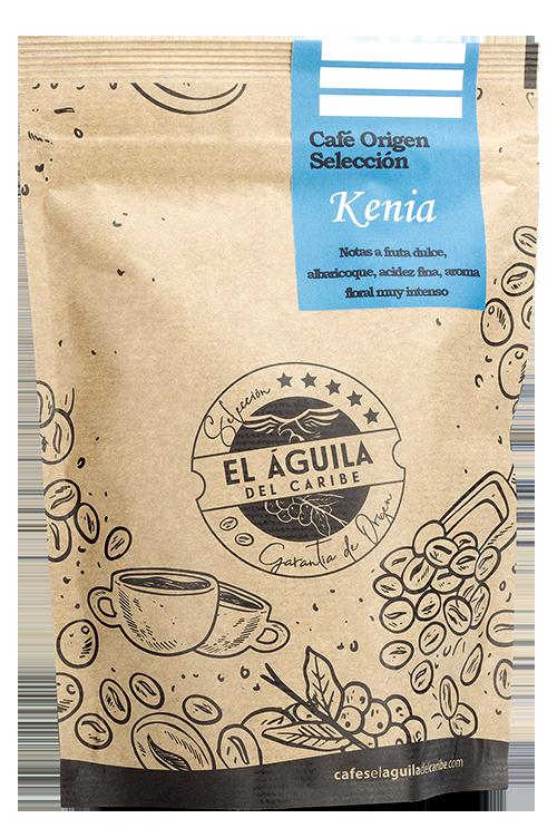 Café Origen Selección KENIA de Cafés El Aguila del Caribe