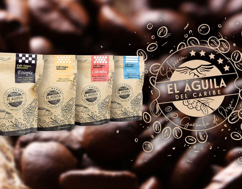 Cafés Origen Selección de Cafés El Aguila del Caribe