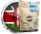 Café Origen Selección KENIA de Cafés El Aguila del Caribe y bandera