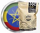 Café Origen Selección Etiopía de Cafés El Aguila del Caribe y bandera
