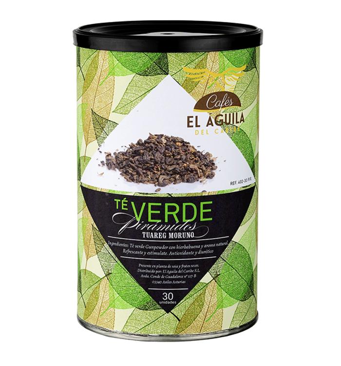 Bote té Verde Tuareg Moruno