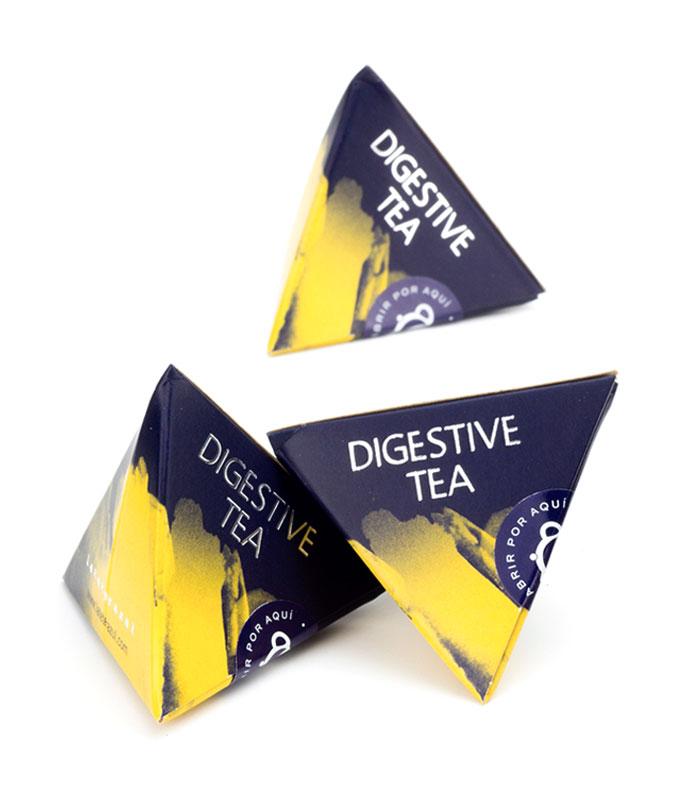 Té Digestive pirámide