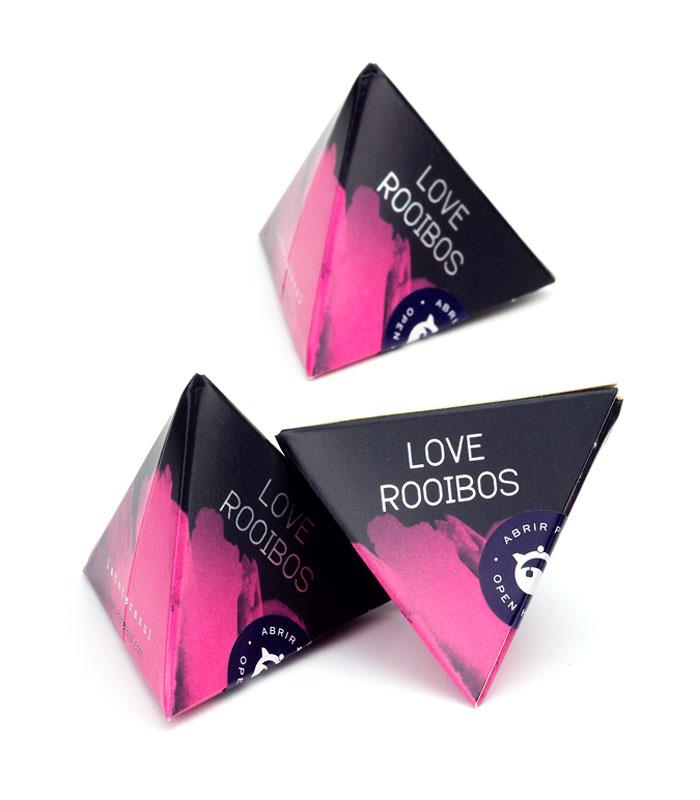 Infusión Love Rooibos pirámide