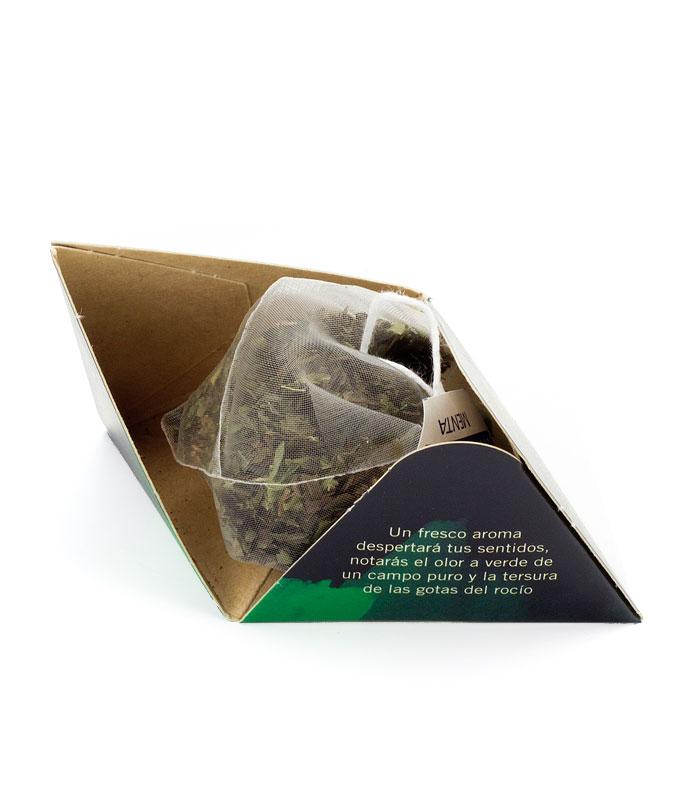 Infusión Menta pirámide interior