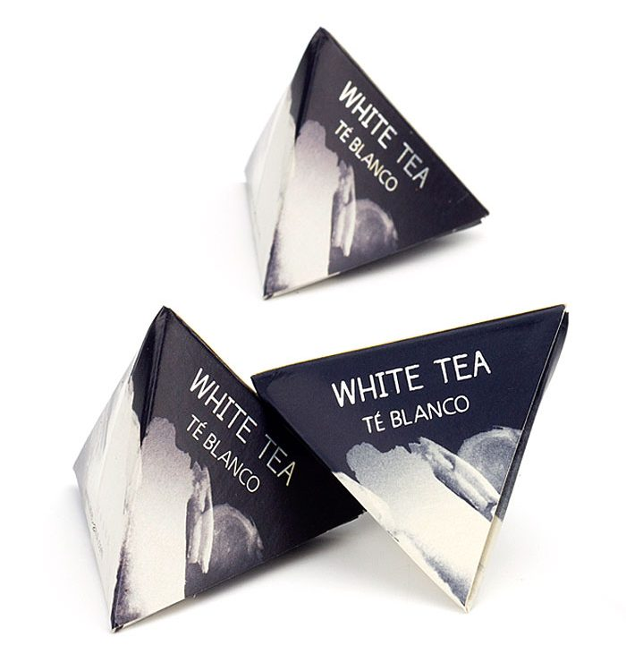 Té Blanco pirámide