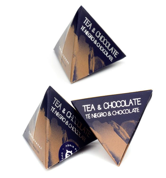 Té Chocolate pirámide