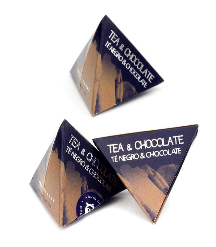 Té Chocolate pirámide