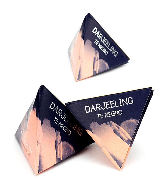 Té Negro Darjeeling pirámide