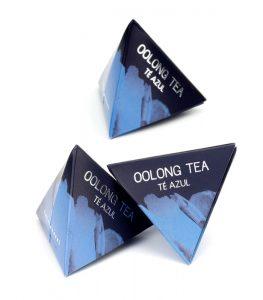 Té Oolong pirámide